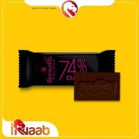 شکلات برنوتی - شکلات 74% - شکلات تلخ -قهوه ناب - ایرناب